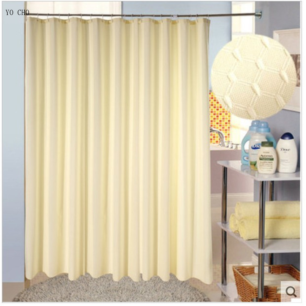 2014 Hot Sale High Grade Polyester Waterproof Shower Curtain Bathroom Polyester High Quality