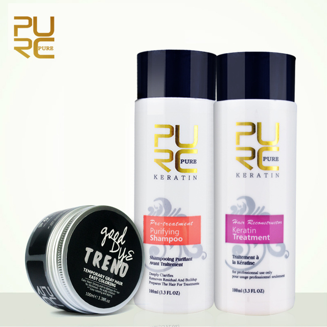 Purc Straightening Hair Repair Damage Dry Hair Products Brazilian