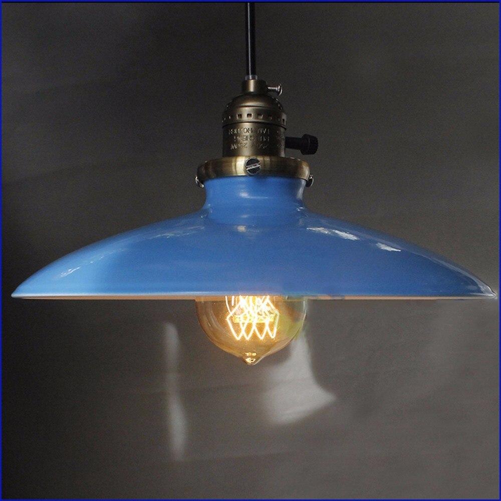 lukloy pendentif lumières lampe, vintage industrielle rétro