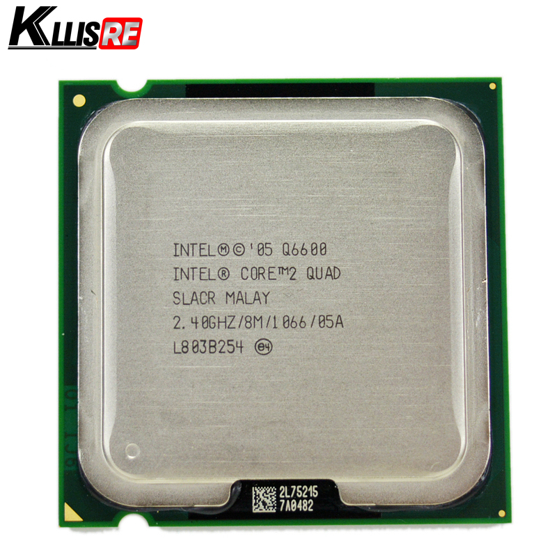 Intel core 2 quad Q6600 2.4GHz Quad-Core FSB 1066 Desktop LGA 775 CPU Processor(China)