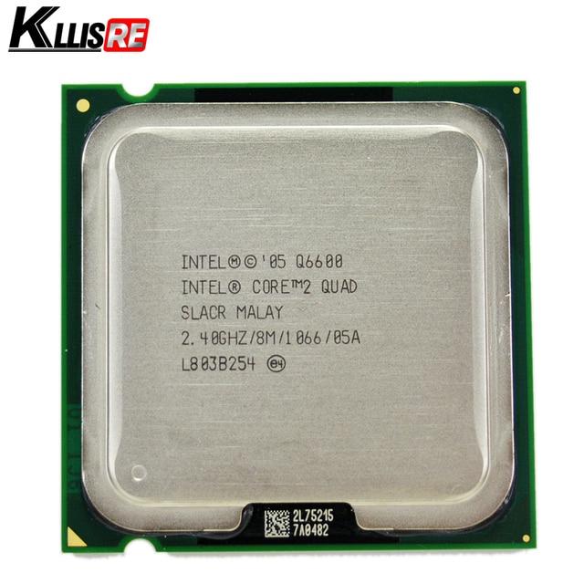 Intel core 2 quad Q6600 2.4 GHz Quad-Core FSB 1066 Máy Tính Để Bàn LGA 775 CPU Bộ Vi Xử Lý