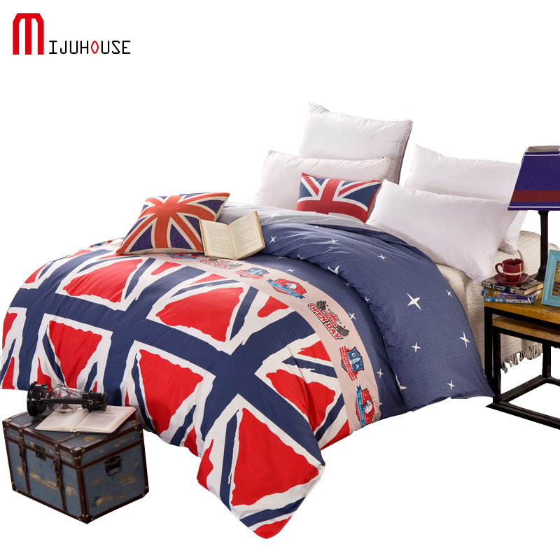 europe 100 cotton duvet cover fabric colourful single twin double queen king size housse de. Black Bedroom Furniture Sets. Home Design Ideas