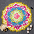 Mandalas tapeçaria indiana bohemian totem lotus parede pendurado sandy beach toalhas yoga cobertor mat colchão de campismo almofada de dormir