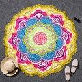 Mandalas tapiz indio bohemio totem lotus colgante de pared sandy beach toallas estera de yoga manta colchoneta de camping colchón
