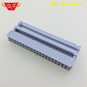 Image 4 - FC 40P Female 2.54mm PITCH 2*20P 40PIN IDC SOCKET CONNECTORS ISP JTAG HEADER FOR FLAT RIBBON CABLE SAMPLE NEXTRON YANNIU