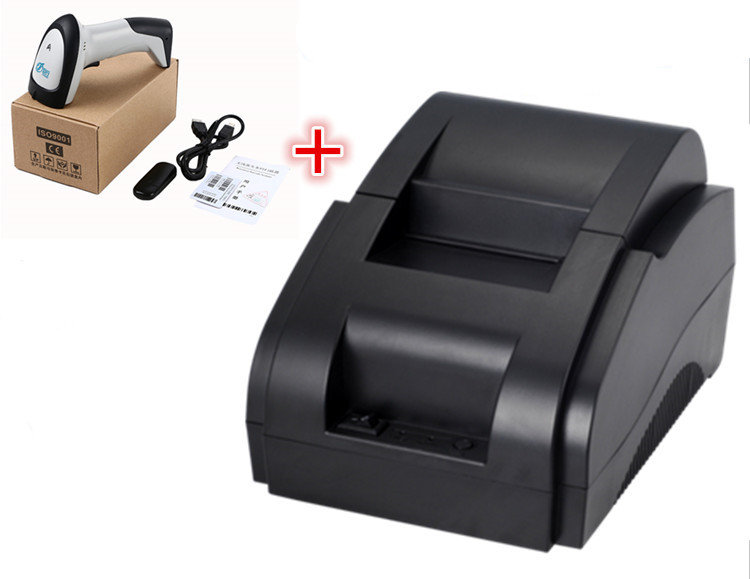 ФОТО 1 Wireless Scanner+Factory outlets XP-58IIH Printer pos printer High quality thermal receipt printer printing speed Fast