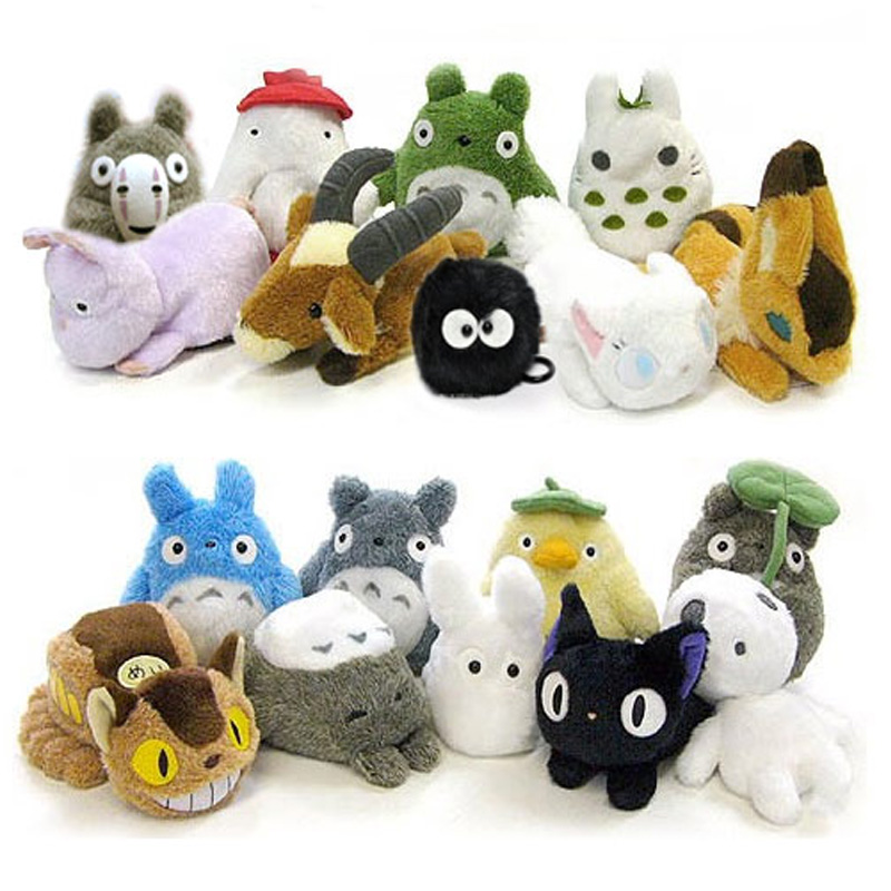 Soft Toys Cartoon : Cartoon totoro plush peluche toys soft new kawaii my