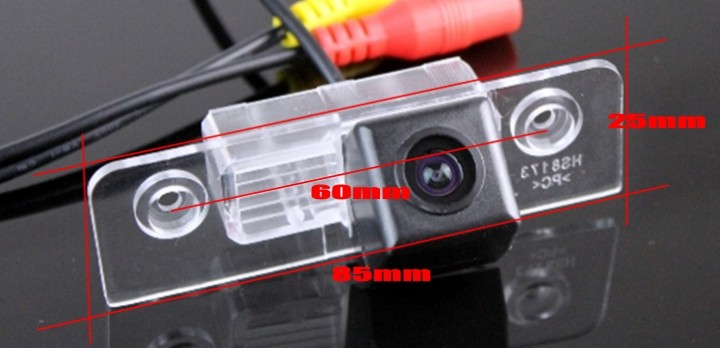 Car Camera For Ford Fiesta ST MK5  Classic  Ikon 2002~2008 High Quality Rear View Back Up Camera For TOPGEAR Fans  CCD + RCA size