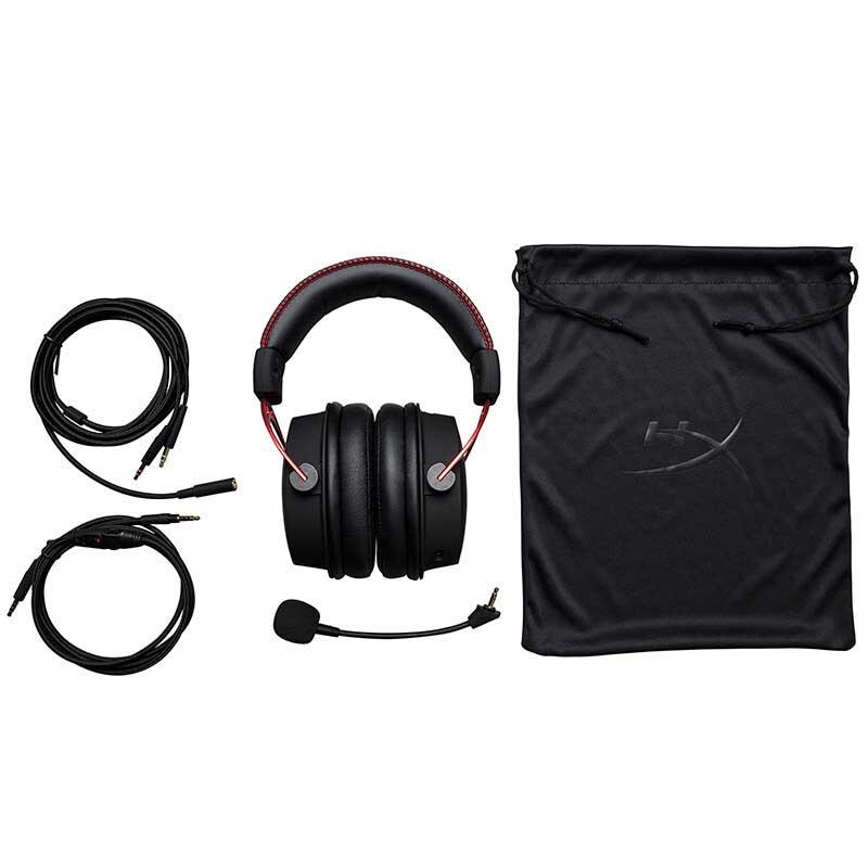 Original Kingston HyperX Cloud Alpha édition limitée e sports casque de jeu avec un microphone casque pour PC PS4 Xbox Mobile - 2