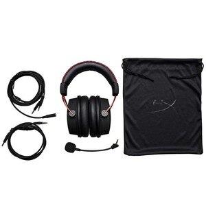 Image 2 - Original Kingston HyperX Wolke Alpha Limited Edition E sport Gaming Headset Mit einem mikrofon Kopfhörer Für PC PS4 Xbox mobile