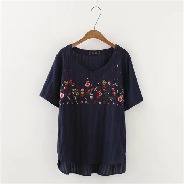 2017 New Summer Cotton Pregnant Dress Blouses Shirts Women Maternity Tops Clothes Tee Maternidad Pregnancy Clothing Plus Size 5