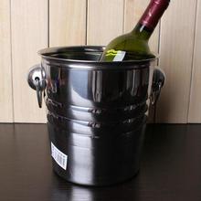 Edelstahl eiskübel ktv rotwein eiskübel champagner bier eiseimer Großen wein eiszange