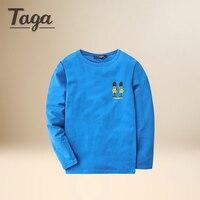 2017TAGA Brand Fashion Cotton Long Sleeve T Shirt Spring Autumn Children Clothing Baby Clothes Sweat Shirt
