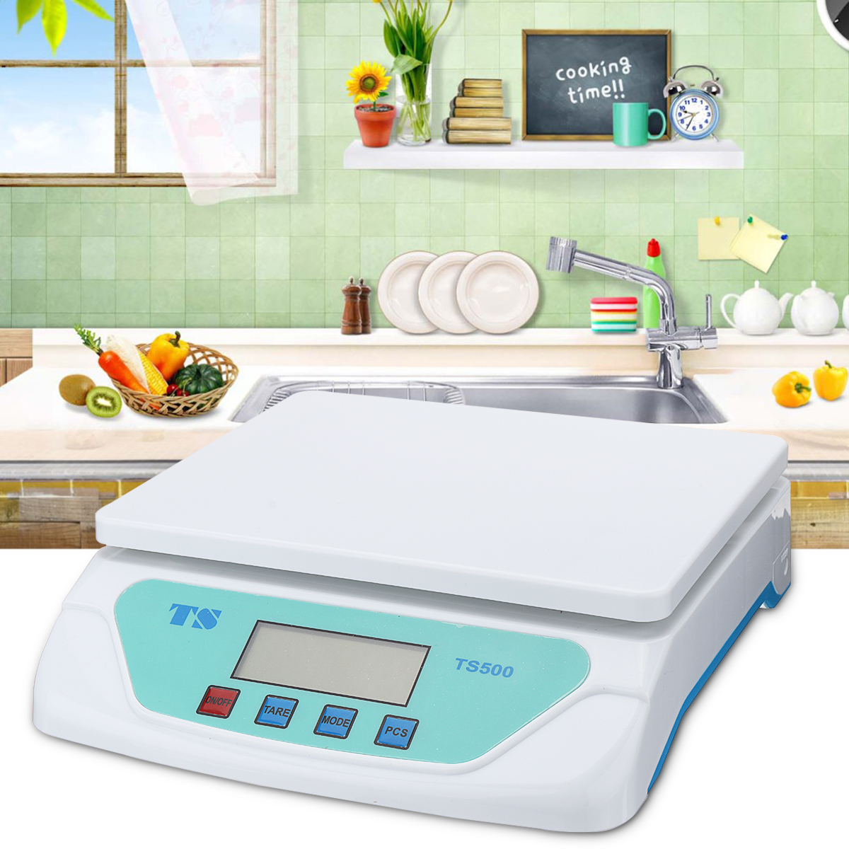 30kg electronic scales Weighing Kitchen Scales Grams Balance LCD Display universal for Home Electronic Balance Weight image