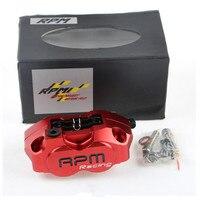 9 Colors Optional Brand CNC Aluminum Motorcycle Brake Disks Brake Calipers Brake Pump Accessories Universal For