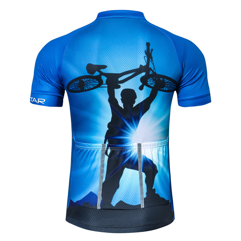 Weimostar Mountain Bike Cycling Jersey Shirt Summer Breathable Cycling Clothing Pro Team MTB Bicycle Jersey Top Maillot Ciclismo 2