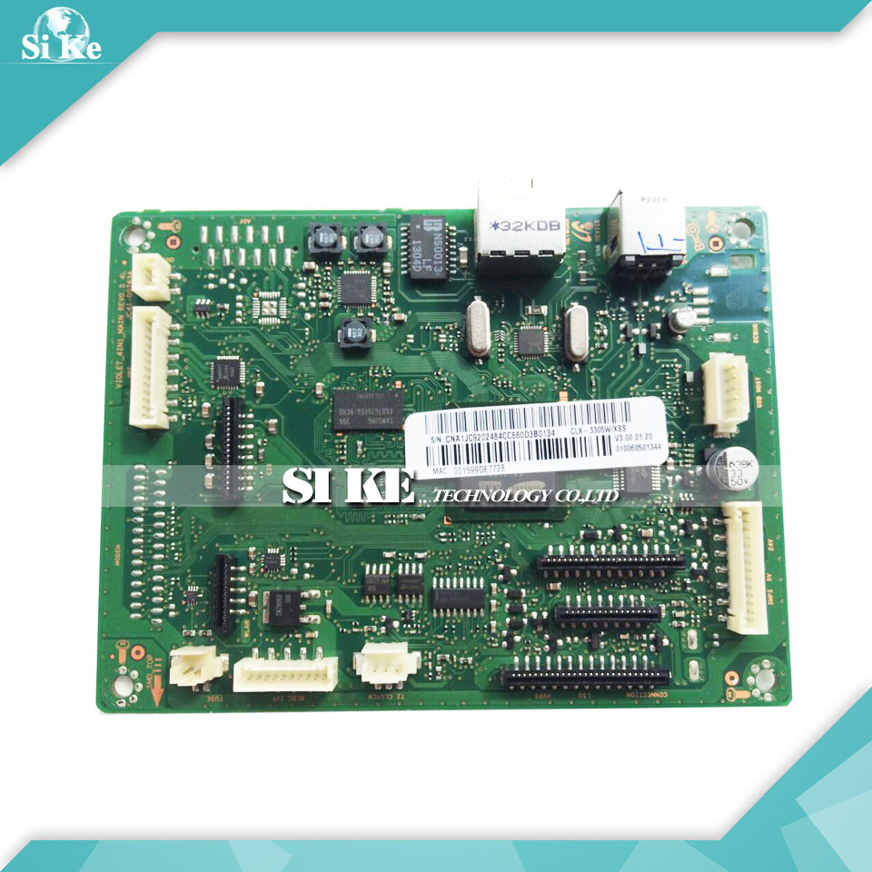 Laser Printer Main Board For Samsung CLX-3305W CLX-3306 CLX-3306W CLX 3305W 3306W 3306 Formatter Board Mainboard Logic Board стоимость