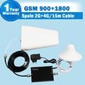 GSM 900 4 Г LTE 1800 Усилитель 65dB Усиления GSM 900 мГц DCS 1800 МГц Dual Band Мобильный Телефон Сигнал Повторителя Booster Celular Repetidor