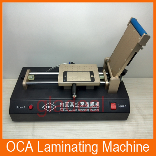 2016 Latest Universal Built-in Vacuum Pump OCA, Polarized Film Laminating Machine For Repair LCD Touch Screen of Galaxy, iPhone 110v 220v built in vacuum pump universal oca film laminating machine multi purpose polarizer for lcd film oca laminator