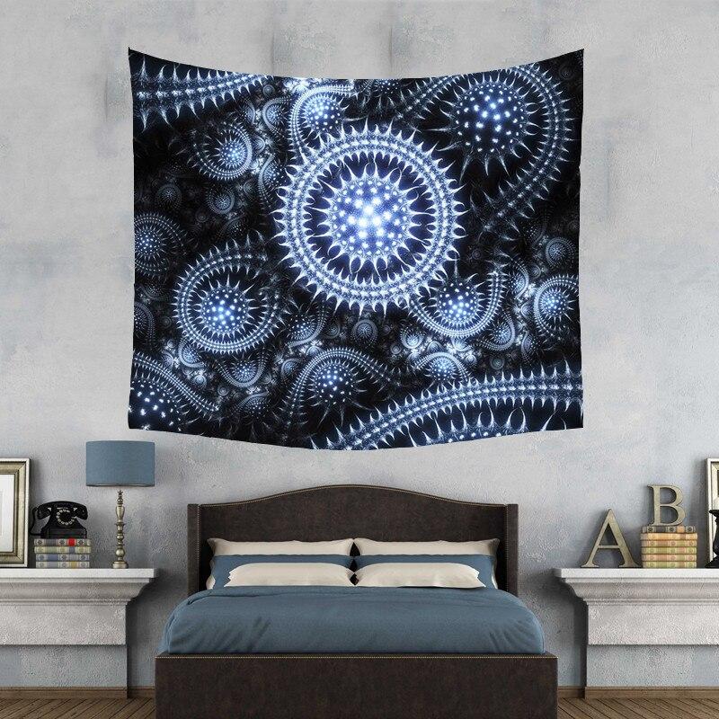 Smiry Décoration intérieure Indienne Mandala Style Paisley Motif Tapisserie Plage Jeter Serviette Yoga Tapis Éponte Gobelin Art Artisanat