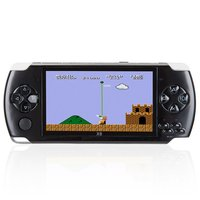 OWLLON X6 4.3 Inch Ultra-Thin 8G Built In Memory Video Game Console MP5 Music Player 1.3MP Camera kids game player
