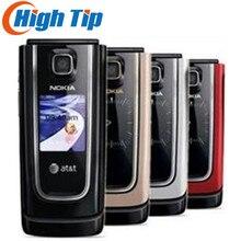 Дешевый nokia бренд 6555 классический флип сотовый телефон 6555 с почтой Сингапура Восстановленный 1 год гарантии