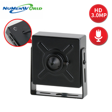 Numenworld IP camera 3.0MP POE HD webcam Mini CCTV Video Aud