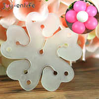 Decoración de fiesta de cumpleaños 10 Uds. Pinza de sello para modelado de flores, globos de látex, Clips de sellado, materiales de decoración para boda