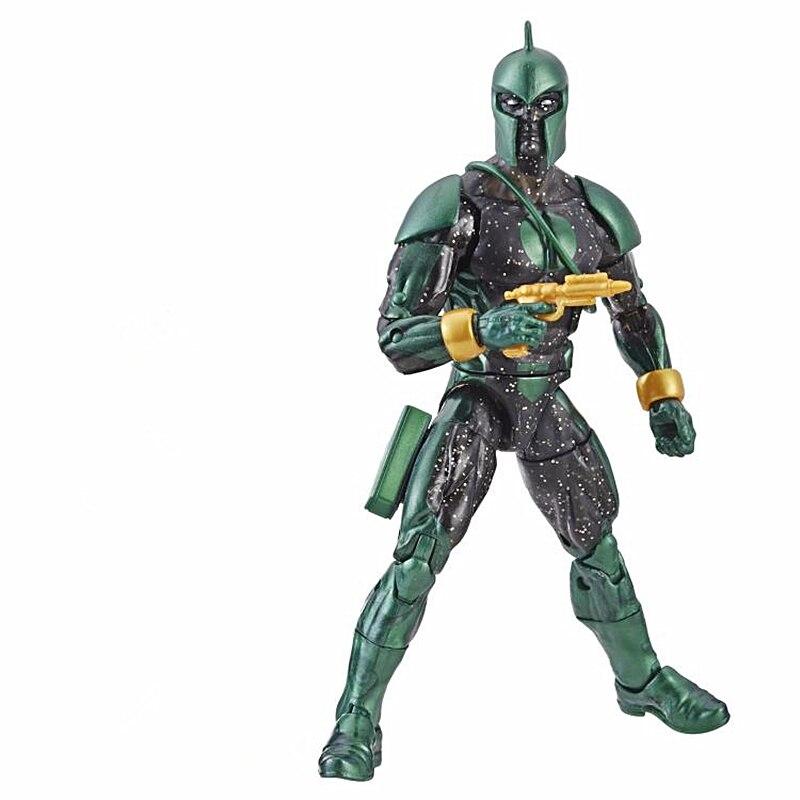 """Marvel Legends Nick Fury Captain Marvel Kree Sentry BAF Series 6/"""" Loose Figure"""