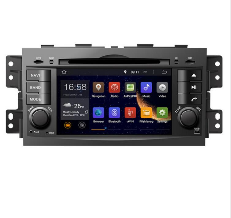 Perfect GIFTS ROM 16G Quad Core Android 7.1 Fit  KIA MOHAVE BORREGO 2008 -2017 CAR DVD PLAYER Multimedia Navigation DVD GPS STEREO RADIO 0