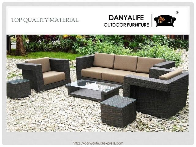 Hervorragend DYSF D6507 Danyalife Outdoor Poly Rattan Sofá Jardim Conjunto De Alta  Qualidade