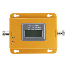 Mini 70dB LCD 2G 4G LTE GSM DCS 1800MHz Cell Phone Mobile Phone Repeater Signal Booster / Repeater / Amplifier + Power Charger
