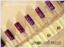 30 ШТ. ELNA Фиолетовый Красный Халат R2O Серии 33 мкФ/10 В Рано электролитические конденсаторы для медь ноги аудио бесплатная доставка