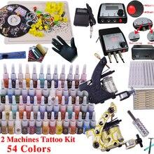 YLT-11 полный набор Татуировки комплект оборудования тату инструмента Искусство Боди-кит 1 заказ