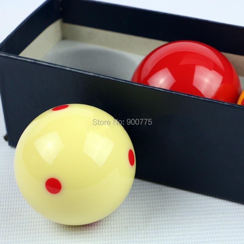 Fransk carom biljardhall- Prickig -61,5mm hartsboll 3 st / pack - Underhållning - Foto 3