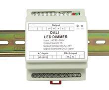 DL107 Ac90v-260v input Soort geleiderail Dali Constante stroom Dimmer Controller DC24-36V uitgang voor 1a Led Lamp