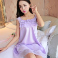 2016 summer maternity clothes sleepwear nightdress silk nightgowns pajamas for pregnant women nightclothes maternal pajama plus