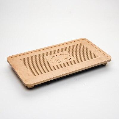 Semplice e moderno kungfu Cinese del tè ware vassoio 49*26.5*4 centimetri di bambù vassoio del tè creativo hotel a conduzione familiare vassoio di stoccaggio di scarico/di bambù vassoio del tè-in Vassoio da tè da Casa e giardino su  Gruppo 3