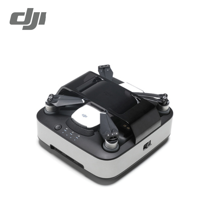 Original New DJI Spark Portable Charging Station Hub For Spark Drone & Battery accessories drone dji spark fly more combo 1080p new mini portable fpv drone dji quadcopter 100% original
