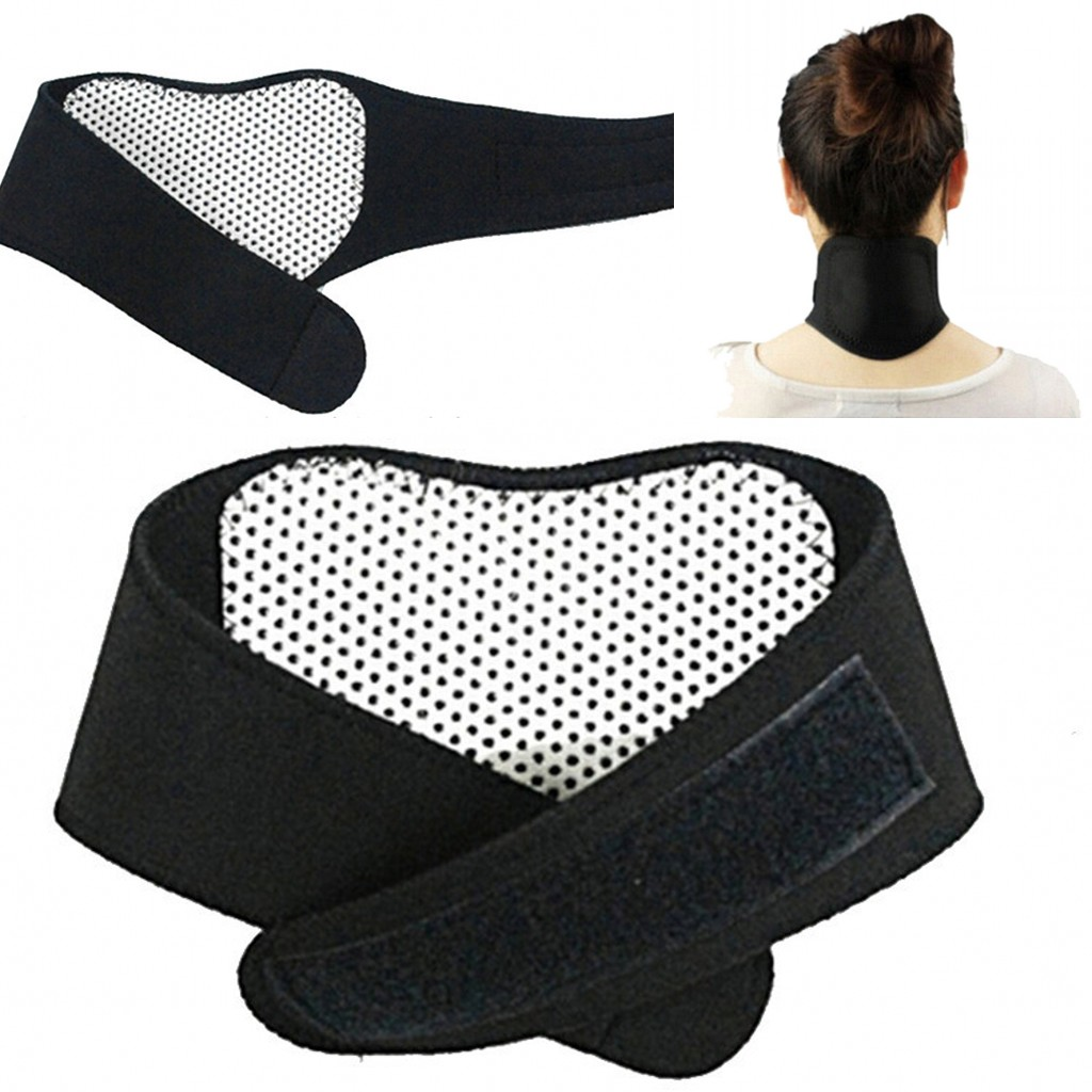 2019 New Neck Protection Massager Magnetic Therapy Neck Spontaneous Heating Headache Belt Body Massager Body Treatment