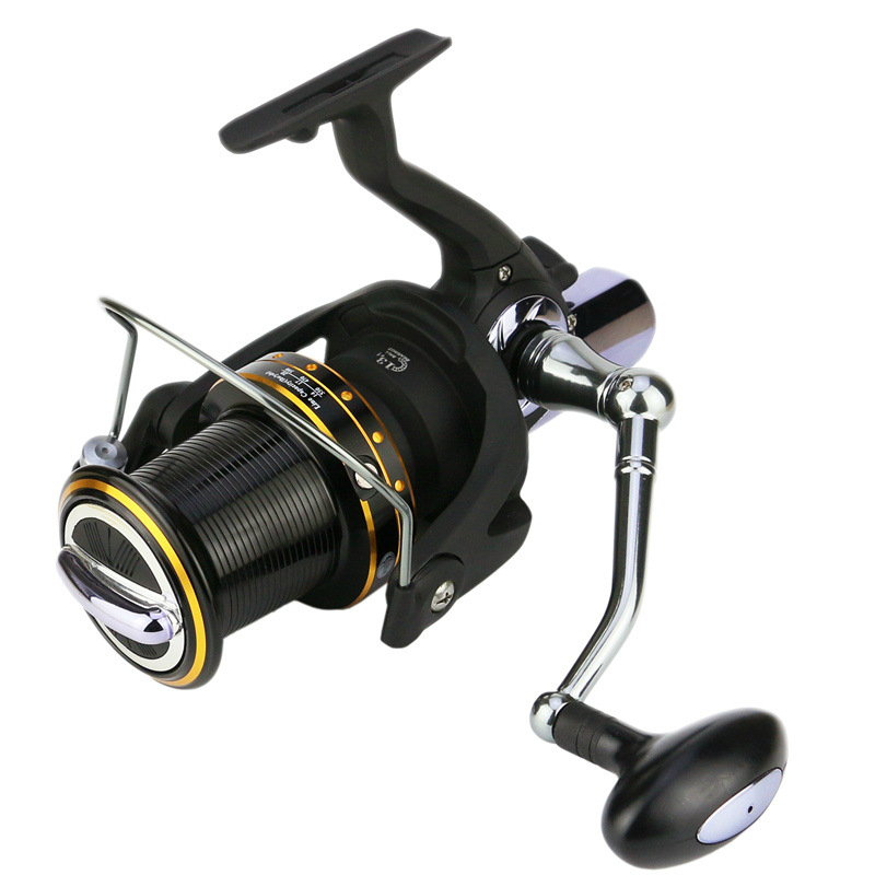 цены High Quality Spinning Fishing Reel 14 Bearings Distant Wheel High Gear Ratio Superbig Line Capacity Trolling Wheel Fishing Tool