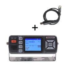 BJ 218 שדרוג visionBaojie ווקי טוקי BJ 318 25W Dual Band 136 174 & 400 490MHz רכב FM רדיו BJ318 VHF UHF מיני נייד רדיו
