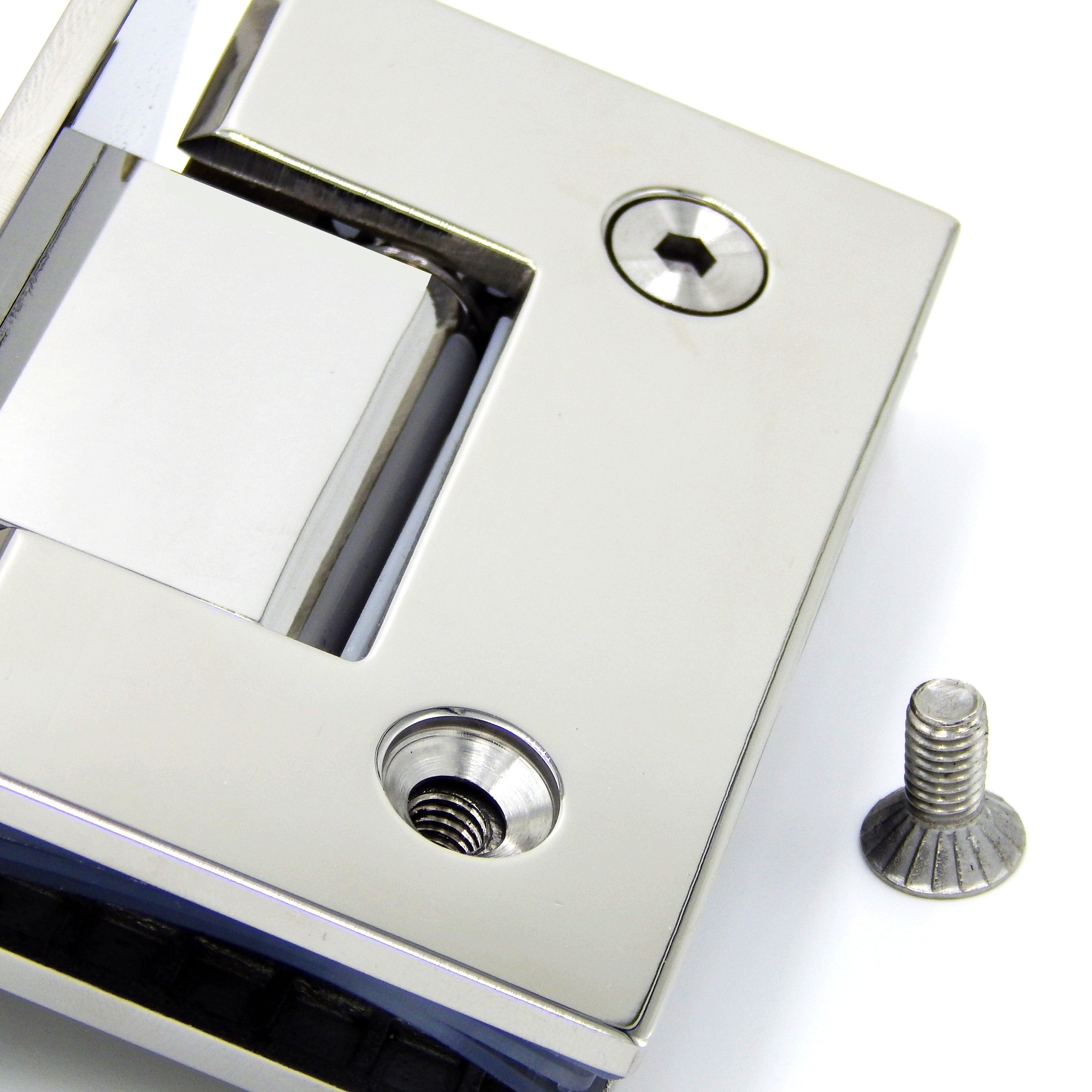 Stainless Steel  Degrees Of Bathroom Clamp Mirror Light Mirror - Bathroom door hinges