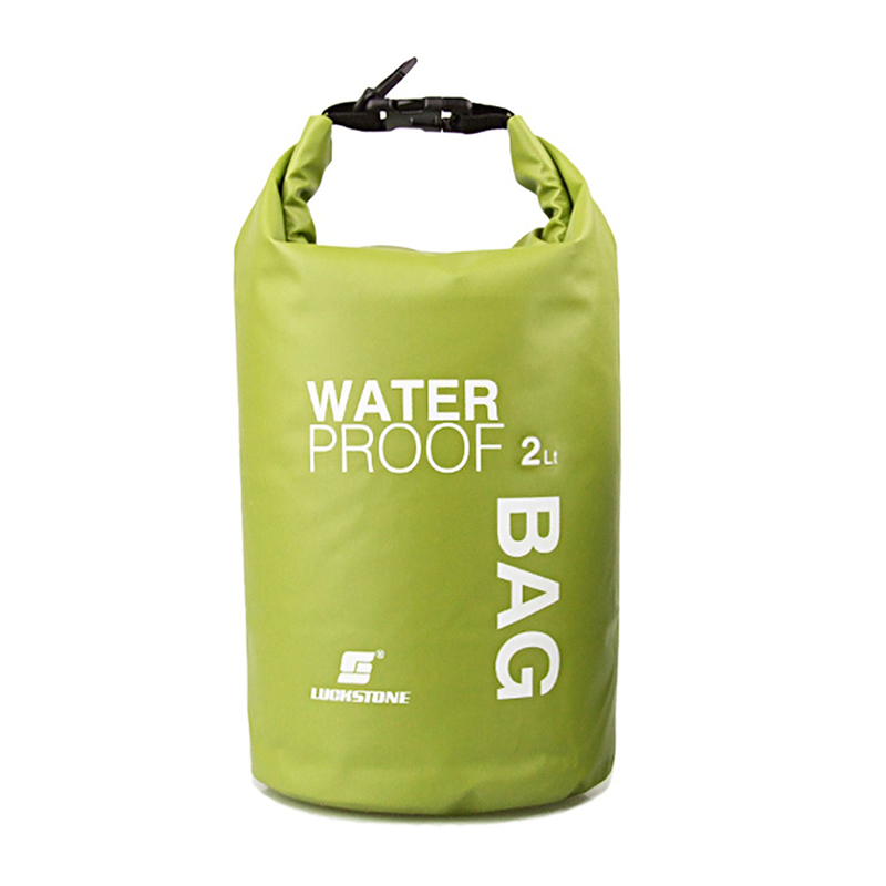 N New Outdoor Waterproof Bag Traveling Ultralight Rafting Bag Camping Dry Bags waterproof box 2L Waterbag