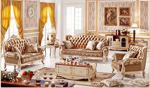 Classic European Furniture Antique Living Room Furniture Part 81