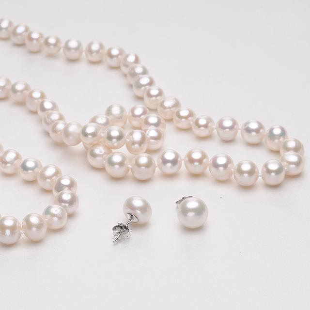 Genuine Freshwater Pearl Jewelry Set