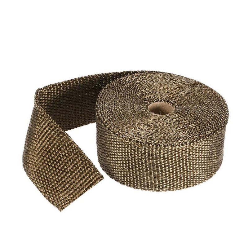 Motorcycle Exhaust Thermal Exhaust Tape Header Heat Wrap Resistant Downpipe For Motorcycle Car Accessories(China)