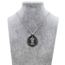 Brand New Vintage Christian Holy Bible Necklaces Pendants For Women Silver Chain Jesus Necklace Men Cross Prayer Jewelry Gift