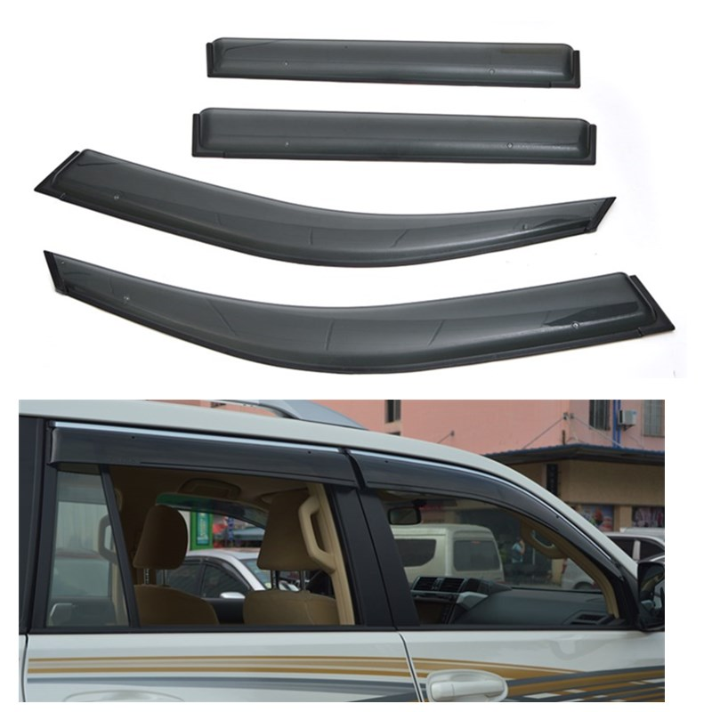 car awnings window visor shelters for toyota land cruiser prado 2003-2009 useful accessories