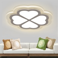 Ultra thin led warm bedroom ceiling lamp lucky grass living room lights modern simple study children's room Ceiling Lights